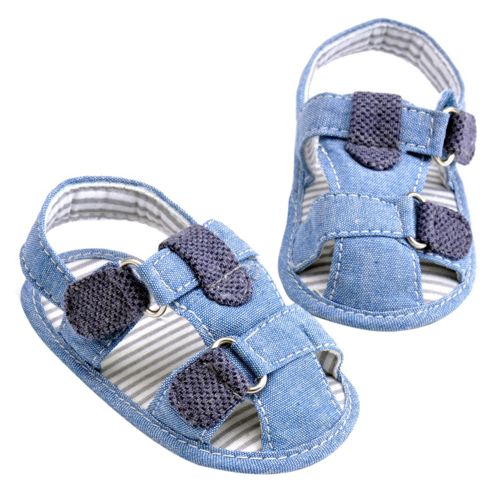 New Summer Baby Boys Kids Shoes Infant Toddlers Very Handsome Soft Soled Beach Crib Baby Kids Sandals