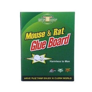 Image 2 - 10Pcs 마우스 보드 최대 끈적 접착제 마우스 트 랩퍼 설치류 쥐 뱀 버그 포수 해충 방제 비 독성 환경 친화적 인 호가 드 거부