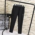 Black Pencil Pants Women Trousers Plus Size 3XL 4XL 5XL Elastic Waist Slim Stretched Pants KK1969