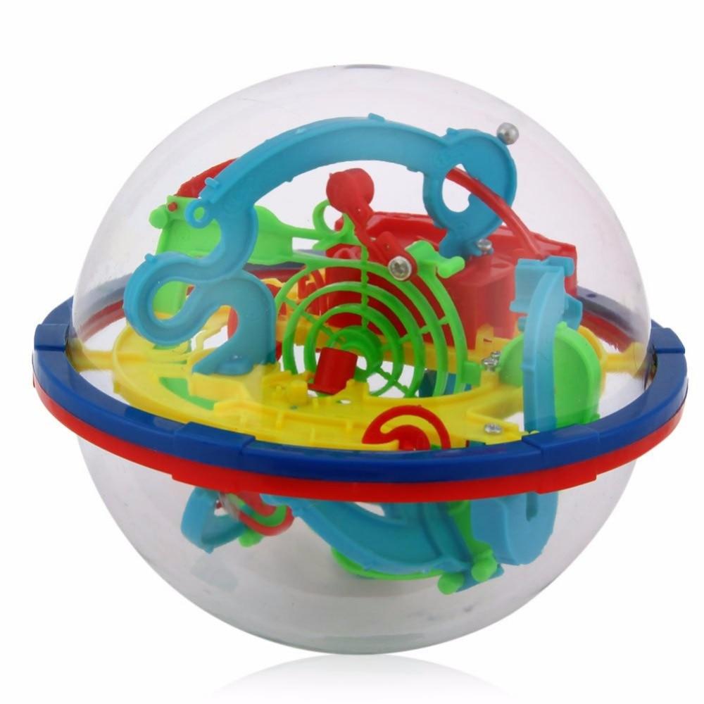 YKLWorld Terbaru Menyenangkan 3D Labirin Bola Intelektual Bola Anak - Permainan dan teka-teki - Foto 3