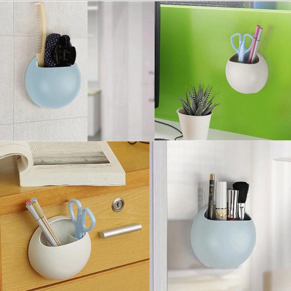 Cute Eggs Design Toothbrush Holder Suction Hooks Cups Organizer ...
