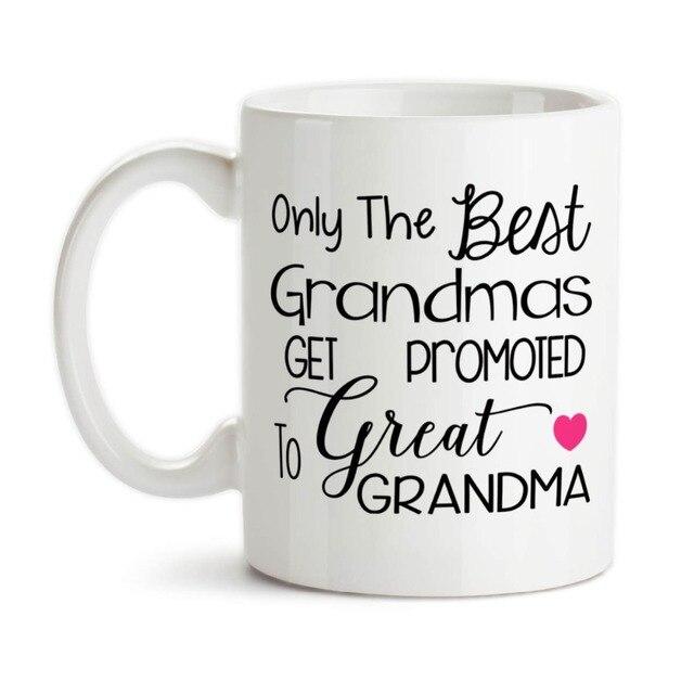 only the best grandmas get promoted to great grandma mug beer mugs