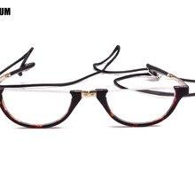 Agstum Half Moon мужские и женские круглые складные очки для чтения