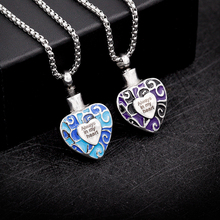 Always In My Heart Mosaic Urn Necklace