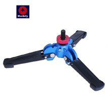 """Manbily M1 M2 Hydraulic Universal Tripod Feet Support Stand Base Monopod Stand for Gitzo Manfrotto RRS Benro DSLR W 3/8"""" screw"""