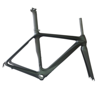 Aero road racing bicycle frmae toray t700 carbon frber BB86/BSA internal cable UD matte finish road bike frame FM288