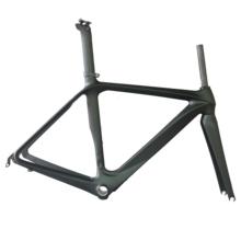 Prześwit Aero wyścigi drogowe rower frmae toray t700 carbon frber BB86 BSA czarny matowy wykończenie rama rowerowa FM288 tanie tanio SERAPH 1130g +-30g Matte Road Bicycles