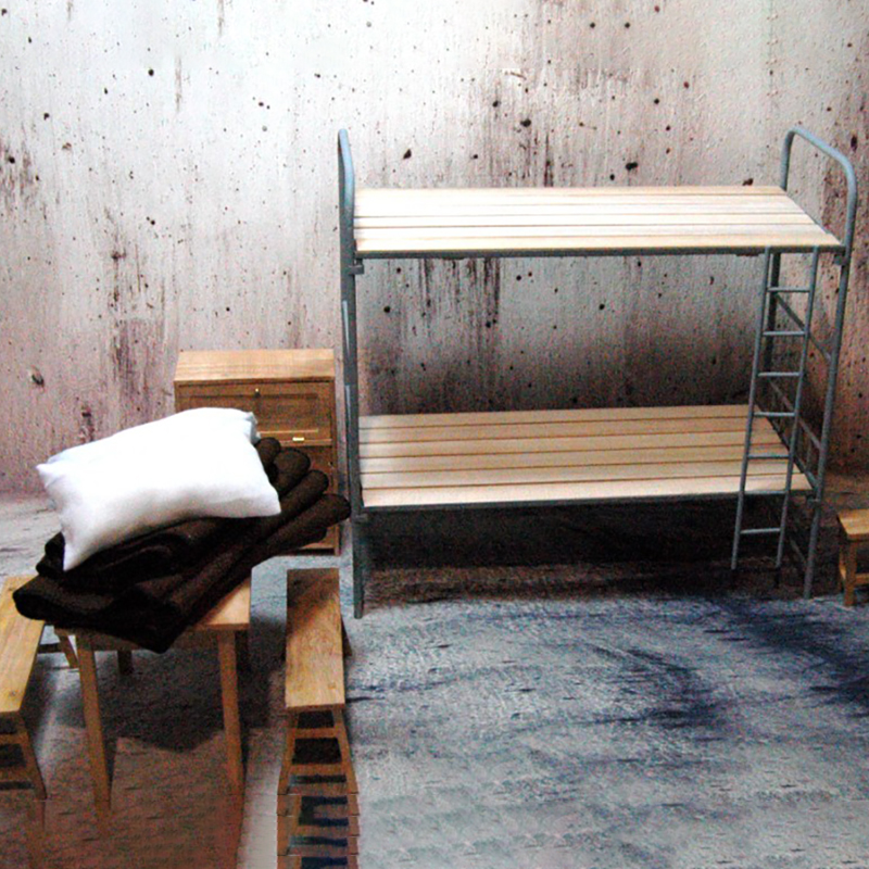 cama beliche de madeira conjunto caber 12 05