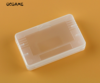 OCGAME 1000pcs/lot high quality Game Cartridge Case card box case For GBA GBA Plastic