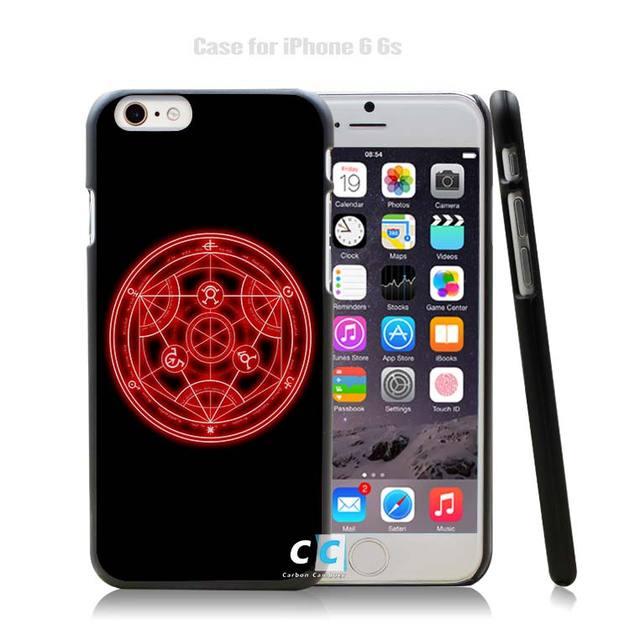 Alchemist Black Plastic Case Cover for iPhone