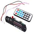 Chegada nova Sem Fio Bluetooth 12 V Bordo Decodificador de Áudio MP3 WMA Módulo TF USB Rádio para Carro