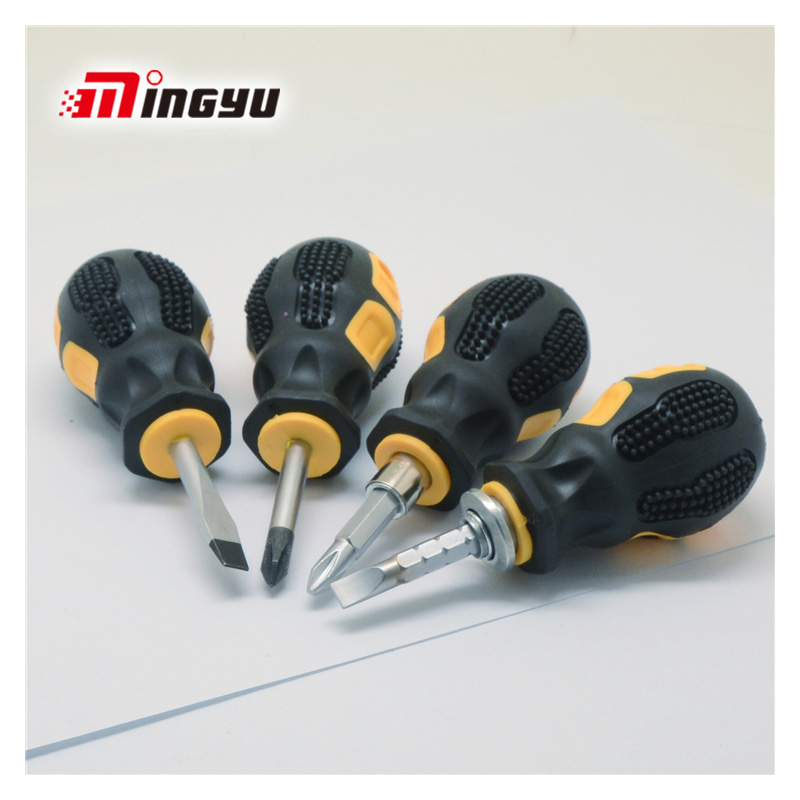 Mini Screwdriver Slotted Phillips Double Ended CRV Matnetic Telescopic Screwdriver Cross Flat Short Home Repair Hand Tools
