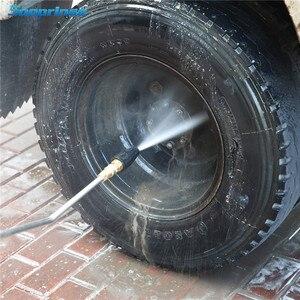 Image 5 - 2020New Sooprinse Universal Druck Washer Turbo Düse für Hochdruck Outlet Fitting Rotary 1/4 zoll Schnell Verbinden 4000PSI