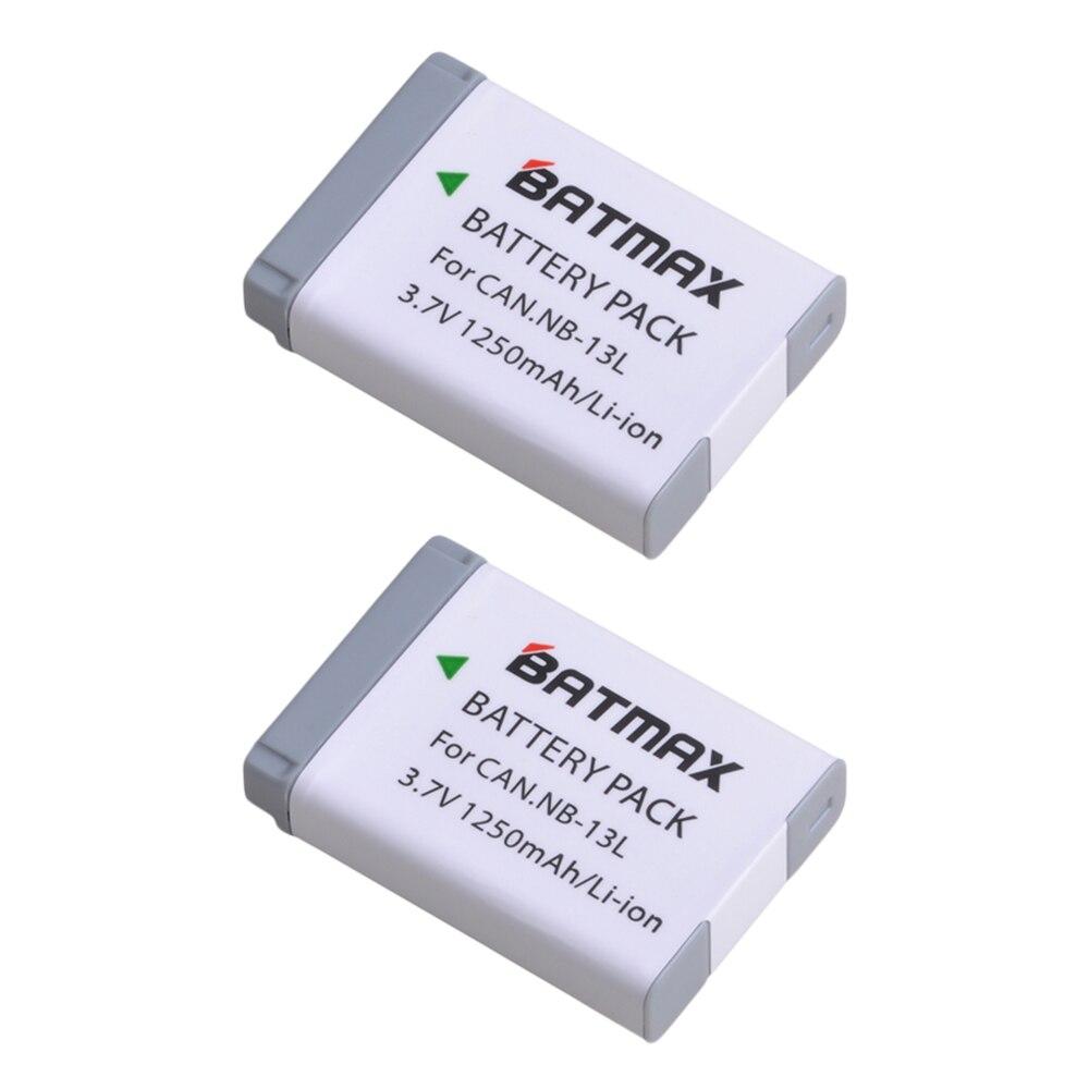 Image 2 - 2 Pcs NB 13L NB13L 13L NB Bateria   USB Carregador de LCD com o  Tipo C para Canon G5X G7X G9X G7 X Mark II Mark II SX620 G9X SX720 HS  HSBaterias digitais