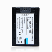 1Pcs 2000mAh NP FH50 NP FH50 NPFH50 Rechargeable Camera Battery For Sony FH70 FH100 A230 A330