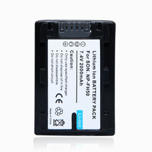 1Pcs 2000mAh NP-FH50 NP FH50 NPFH50 Rechargeable Camera Battery For Sony FH70 FH100 A230 A330 A290 A380,for sony accessories