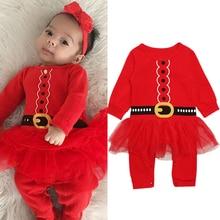 Baby Girls Romper Long Sleeve with Mesh Halloween Christmas Costume