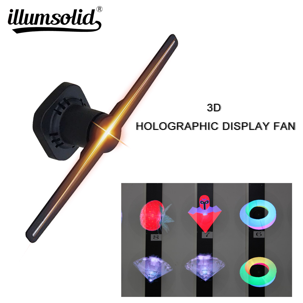 Projecteur holographique d'hologramme Unique de ventilateur d'affichage holographique du joueur 3D de LED