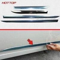 Stainless steel Door Body Molding Streamer Cover auto moulding Trim Door Body Strip Decoration For TOYOTA PRIUS 30XW 2011 2012