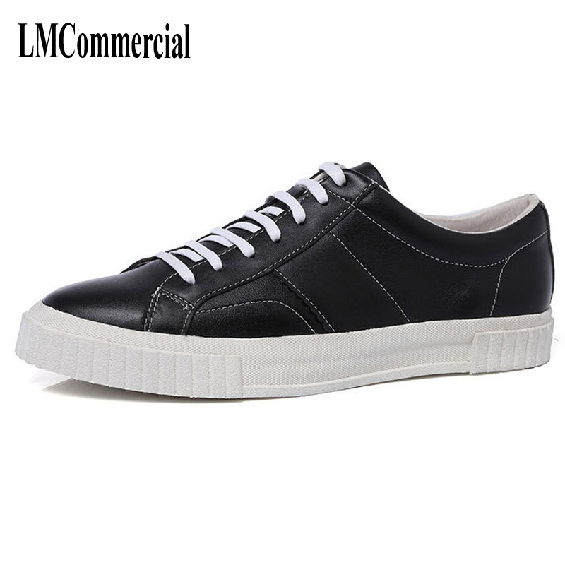 Spring and summer men's leather shoes all-match British retro men shoes breathable sneaker fashion boots men casual shoes, the spring and summer men casual shoes men leather lace shoes soled breathable sneaker lightweight british black shoes men