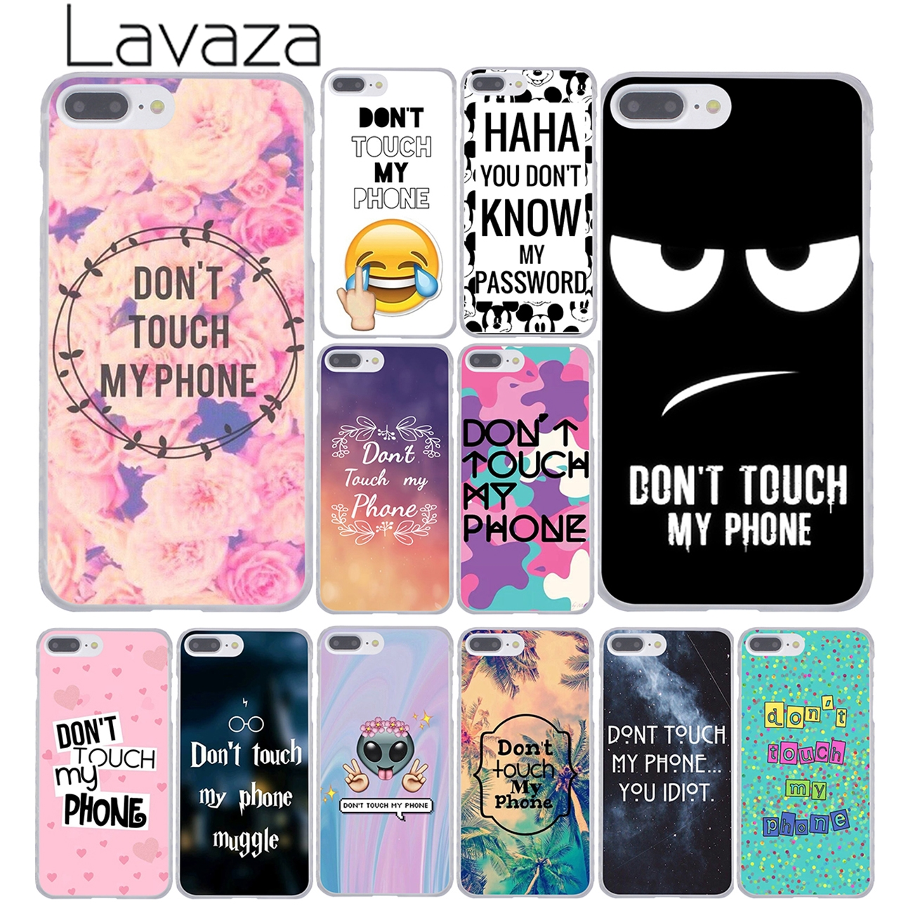 Lavaza do not touch Don t touch my phone muggle Phone Case for Apple iPhone  XR XS Max X 8 7 6 6S Plus 5 5S SE 5C 4S 10 Cover d46d7d280afb2