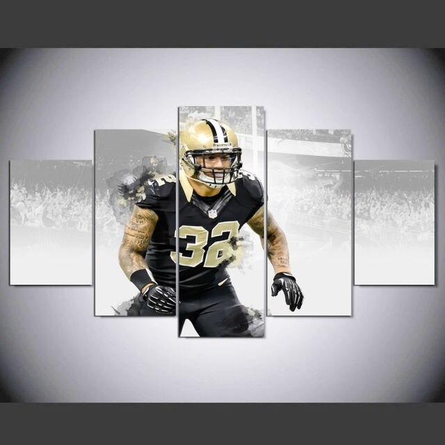 DAFENJINGMO ARTS New Orleans Saints Player 32 Kenny Vaccaro Modern ...