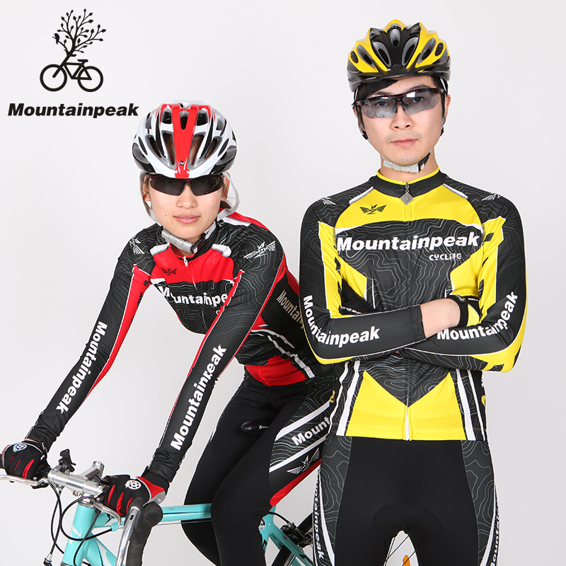 The New Spring and Summer Mountainpeak Long Sleeve Cycling Suits Cycling Shorts Cycling Wear Pants Cycling Equipment