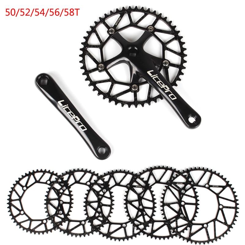 130BCD 50//52//54//56//58T Narrow Wide Chainring Folding Road Bike Alumium alloy CNC