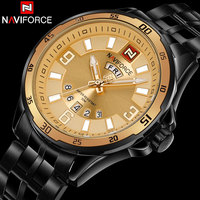 New Arrival NAVIFORCE Brand Mens Quartz Watch Men Sport Watches Stainless Steel Waterproof Watches Male Military