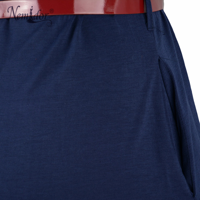 Nemidor Vintage Short Sleeve Belted Dress