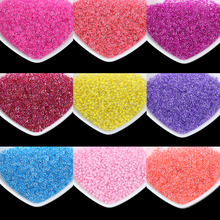 Candy color 2mm 1000pcs/lot Crystal Glass Spacer Beads Charm Czech Seed Beads For DIY Jewelry Making Handmade Necklace Bracelet