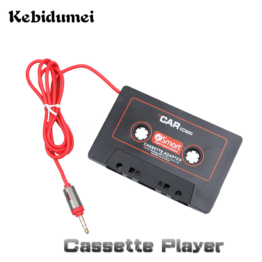 Ehrgeizig Kebidumei Universal Mp3-player Band Adapter Auto Kassette Konverter Für Ipod Für Iphone Aux Kabel Cd-player 3,5mm Jack Stecker Cassette & Spieler