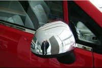 For Chevrolet SAIL 2010 2014 Chrome Side Rearview Mirrors Cover Protector 2pcs
