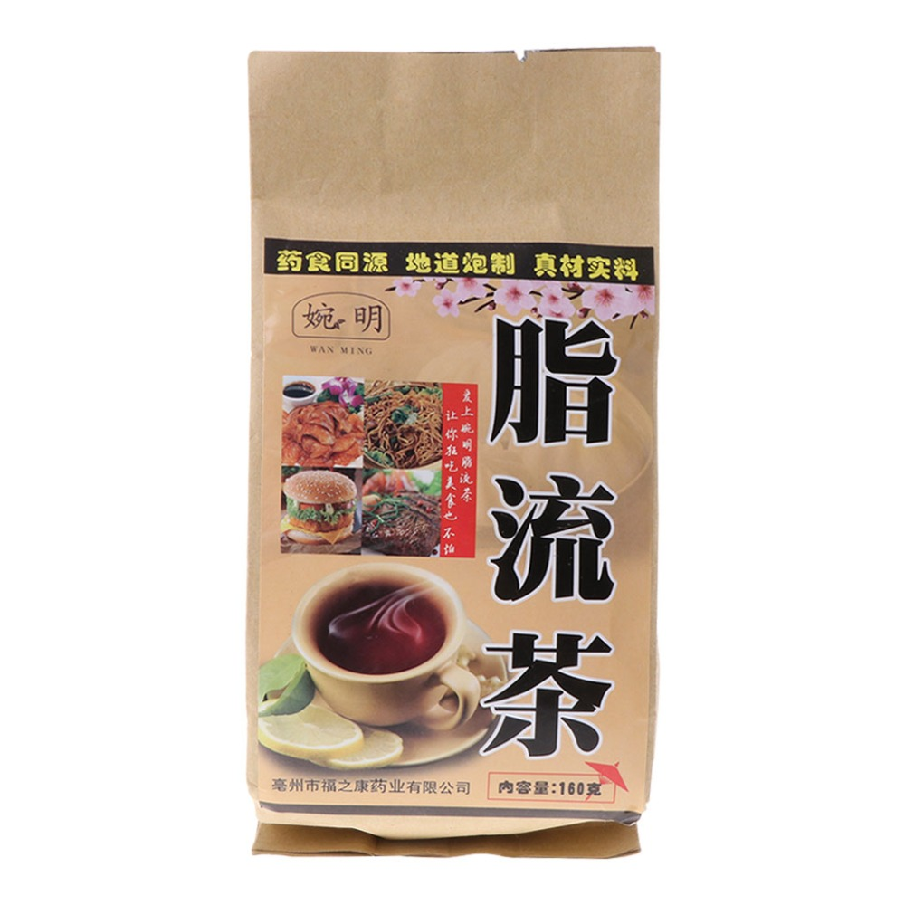ZLROWR 160g Slimming Tea Weight Loss Plants Detox Beauty Body Fat Burning Health Care