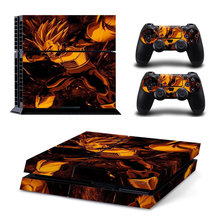 Angry Prince Vegeta Decal Skin for Sony Playstation 4
