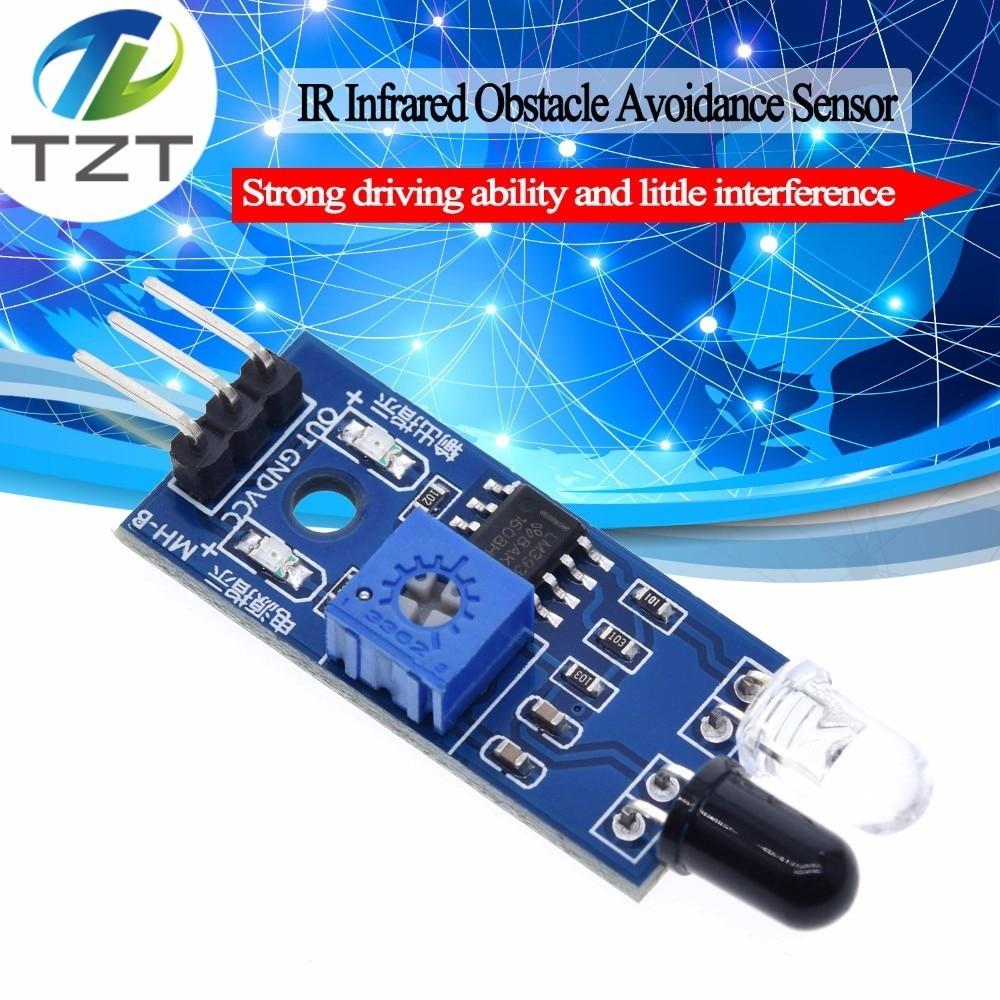 IR Infrared Obstacle Avoidance Sensor Module for Arduino Smart Car Robot 3-wire