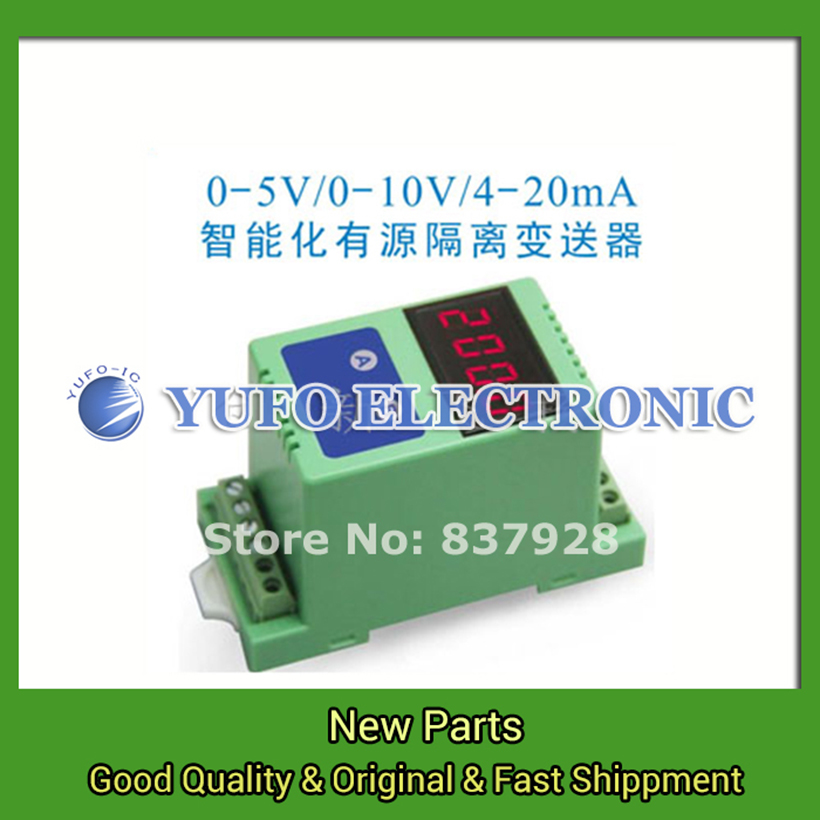 Free Shipping 1PCS  DIN1X1 ISO F1-P2-O5 (LED) LED DC signal isolation amplifier magnetic transducer YF0617 relay
