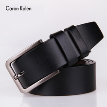 Men's belt Genuine Leather Dress Belts with Single Prong Buckle for men Cummerbunds ceinture homme