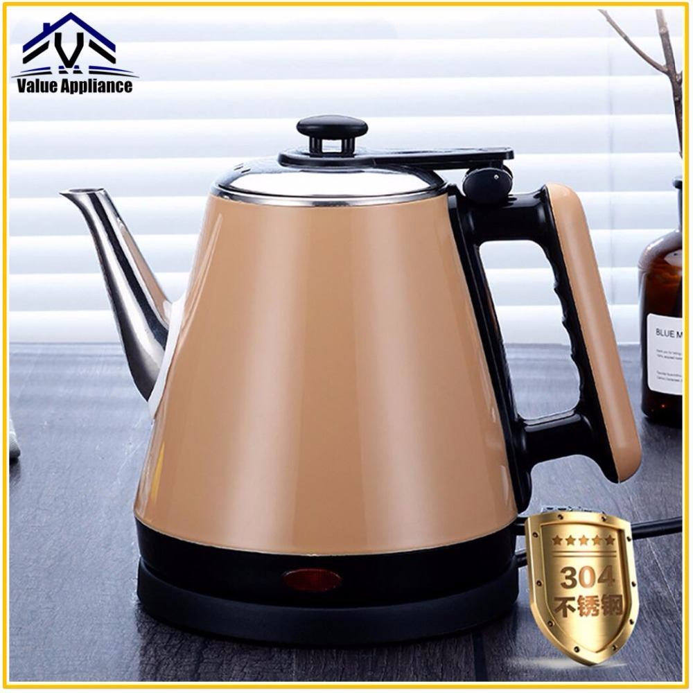 Anti-scalding 304 Food Class Stainless Steel Electric Kettle Food Grade Household Large Capacity Fast Heating Brand New electric kettle household automatically 304 stainless steel food grade large capacity