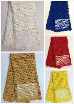 Hot Selling Swiss cord lace chemical guipure french lace fabric, african net lace fabrics high quality for Nigerian wedding