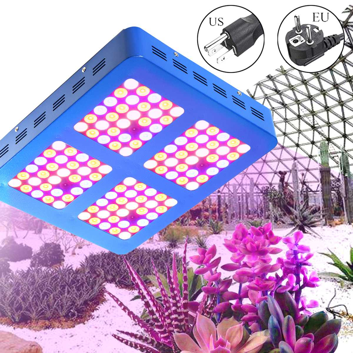 Smuxi LED Grow Light 600W Full Spectrum Hydroponics For Indoor Greenhouse Grow Tent Plants Grow LED Light Succulents Bloom jiernuo led grow light 600w mini lamps for plants grow led full spectrum fitolampa for greenhouse hydroponics system aquarium