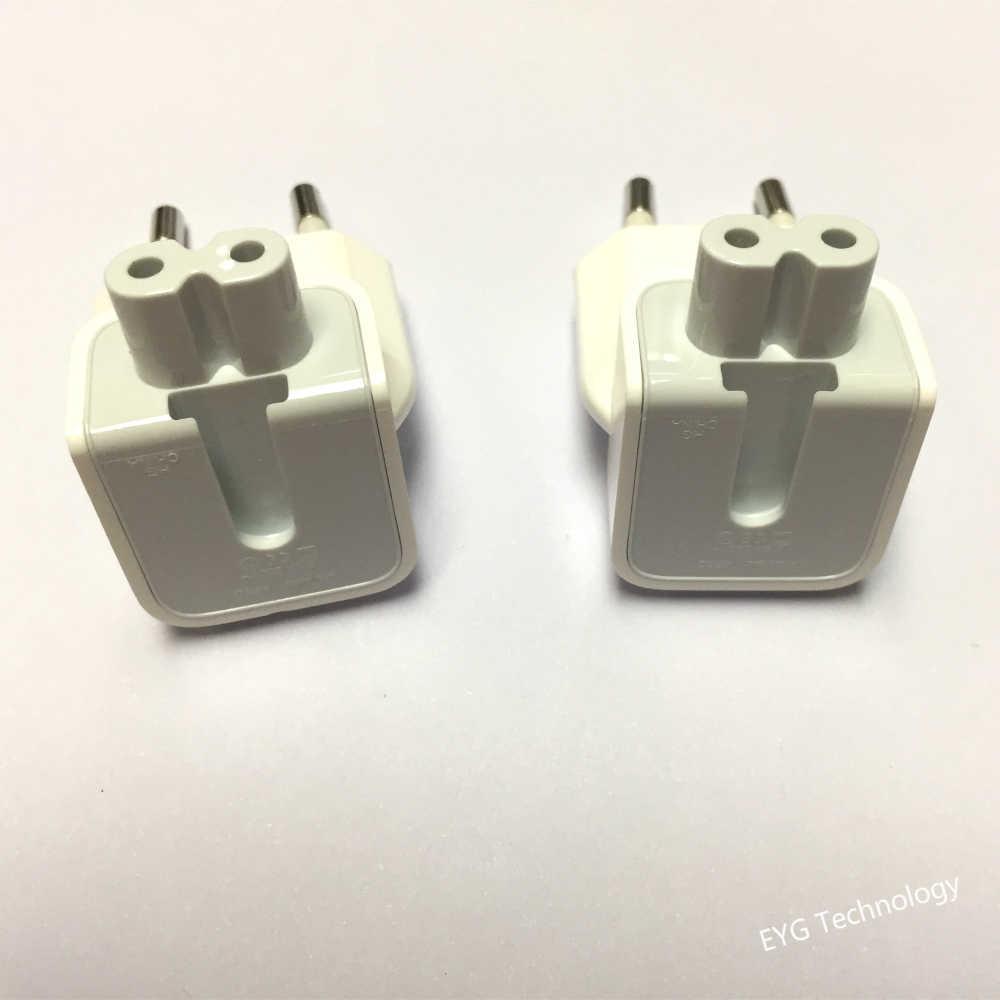 2 Pcs/lot EU Dinding Plug untuk Iphone Charger Macbook Pro Air 29 W 45 W 60 W 85 W 61 W Adaptor By Charger Eropa Plug