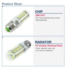 LED lamp Bulb E27 E14 Candle Light Bombillas 220V SMD 5730 Home Decoration Lamp for Chandelier Spotlight 24 36 48 56 69 106LEDs