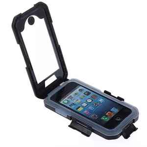 Image 2 - Motorcycle Bicycle Phone Holder Bag for iphone XS Max 8 7 Plus 11 Pro Waterproof Case Mobile Support Bike Handlebar Holder Stand