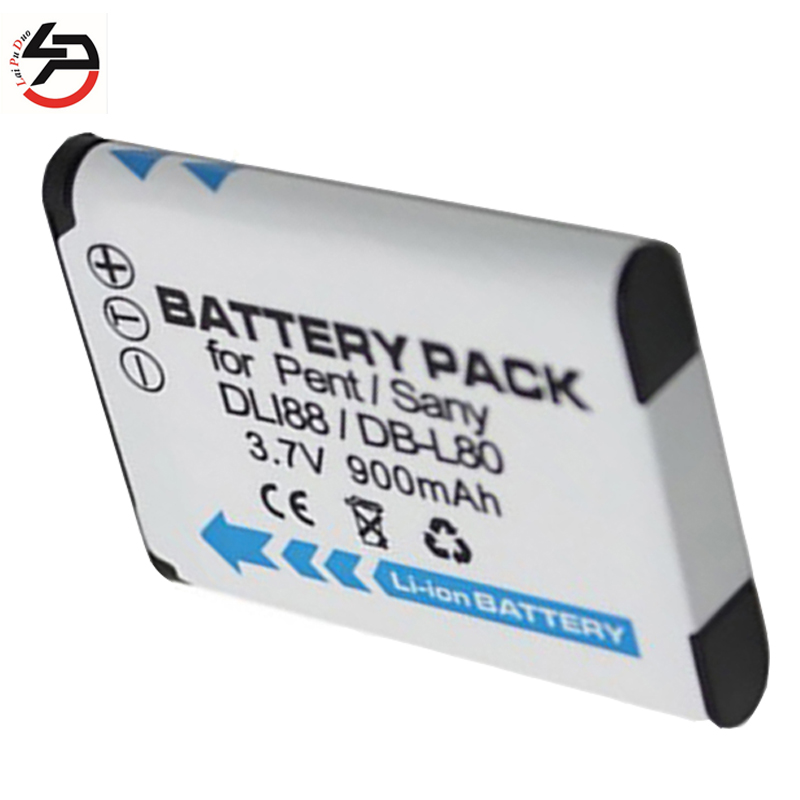 LPD 900mAh Brand New Replacement Battery For Sanyo Xacti VPC-CG10 VPC-CG20 VPC-CG100 B-L80 DB-L80A VPC-CS1 VPC-CA102 image