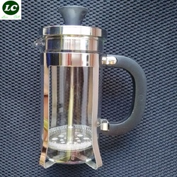 Free shipping french press 350ml coffee tea tool with filter high quality glass pot.jpg 250x250