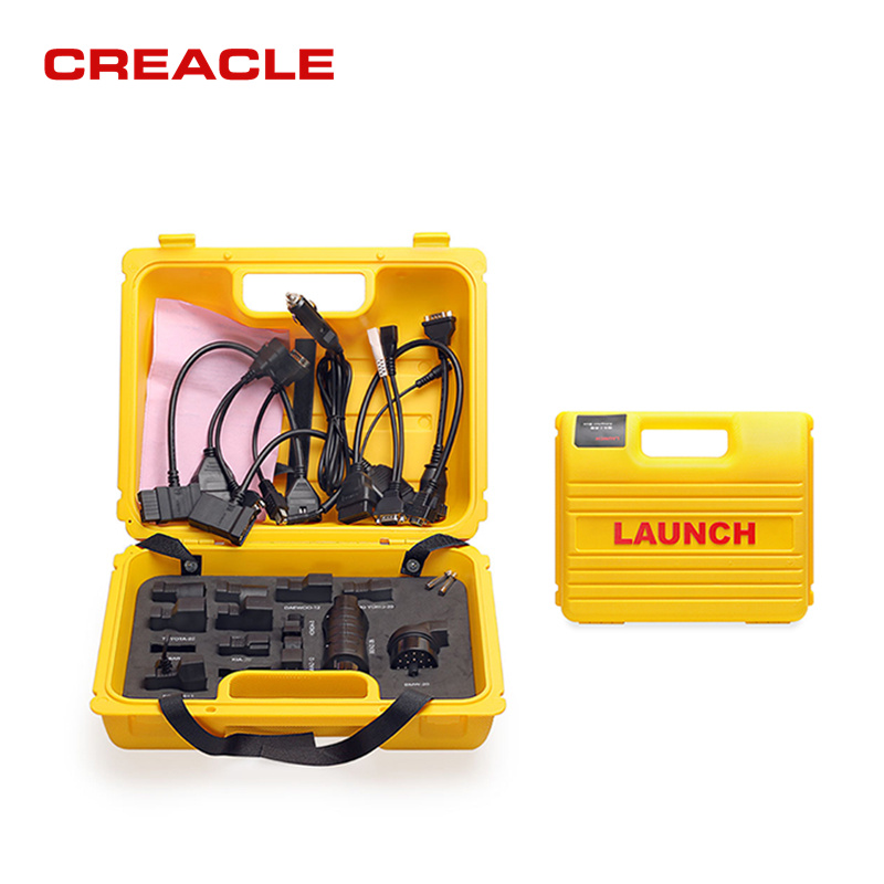 NEW Original Launch Auto X431 Diagun IV yellow case with full set cables Yellow box for x-431 Diagun IV Diagun 4 free shipping