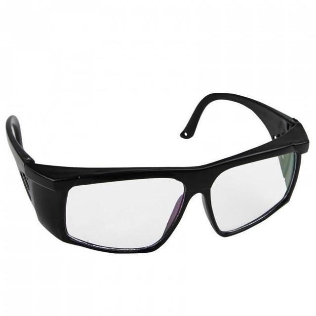 a9906e01e063ef Out Deur Uv Proof Glazen Transparante Bril Dust Wit Gecoat Bescherming  Gafas Voor Riding Mannen