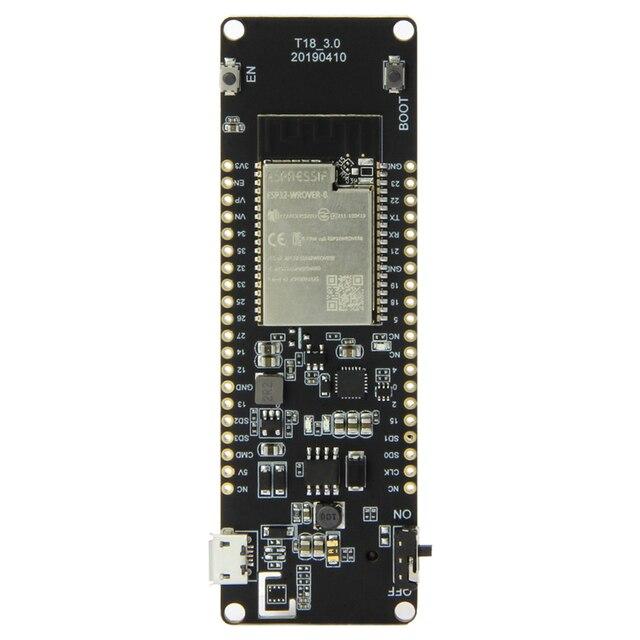 Lilygo®Ttgo T Energie ESP32 8 Mbyte Psram Wifi & Bluetooth Module 18650 Batterij ESP32 WROVER B Development Board