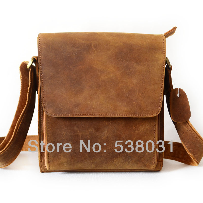 Men S Real Leather Bag Cross Body Tablet Case Vintage Messenger In Crossbody Bags From Luggage On Aliexpress Alibaba Group